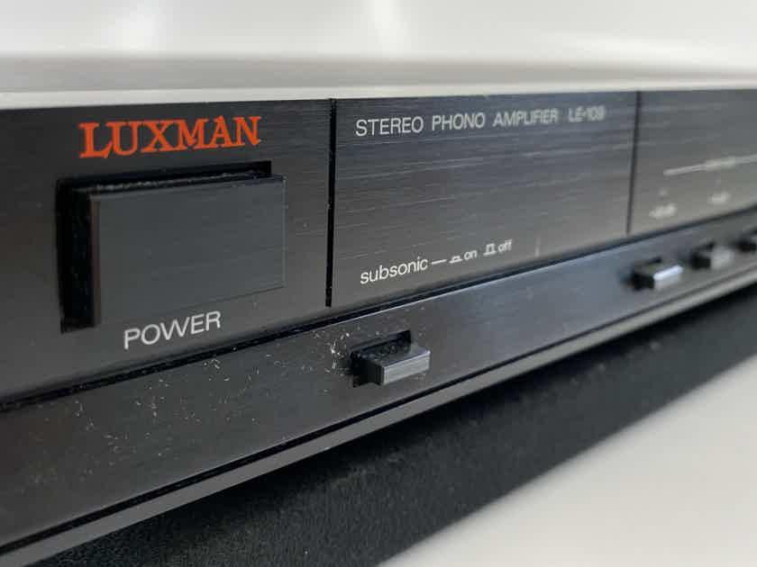 Luxman LE-109 Phono Preamplifier - Super Flexible, Capable, and RARE