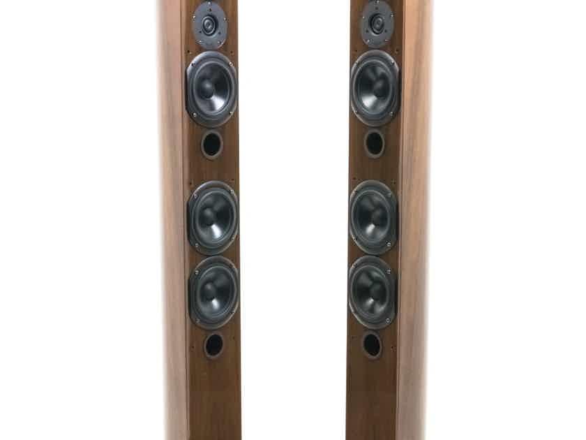 T+A Lignum LGS10 Floorstanding Speakers; Dark Walnut Pair (19640)