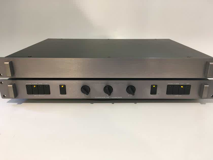 Jeff Rowland Coherence One Preamp with Phono Section, Gray or Gold Finish