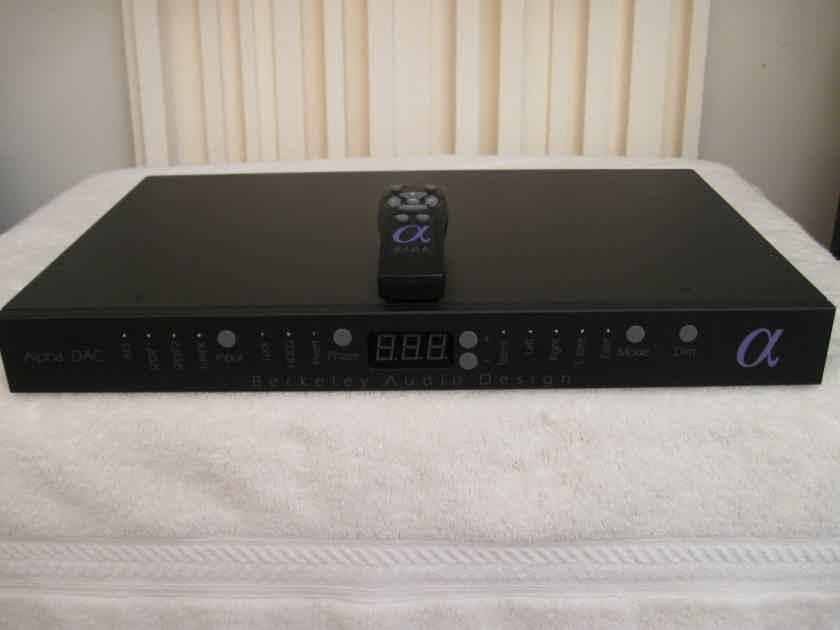 Berkeley Audio Design Alpha DAC Series 2