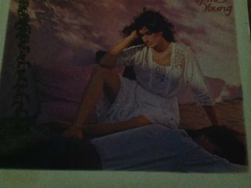 Karla Bonoff - Wild Heart Of The Young Columbia Records Promo Stamp Back Cover Vinyl LP NM