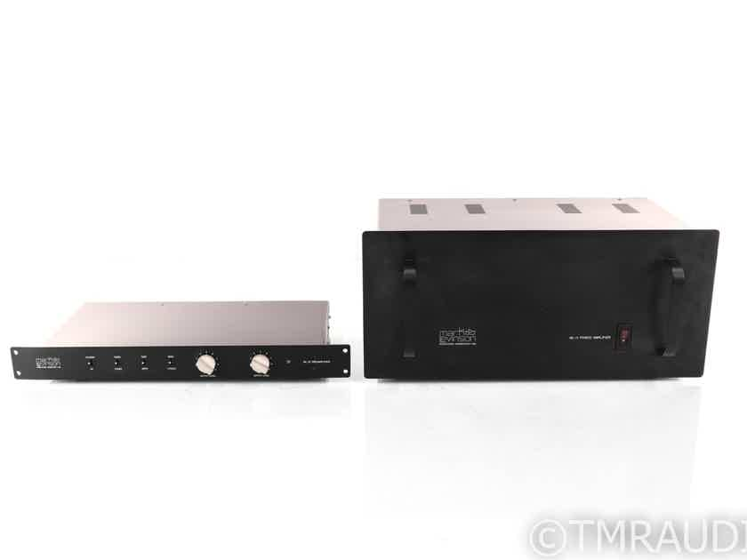 Mark Levinson ML 11 Amplifier / ML 12 Preamplifier; Combo; AS-IS (No Umbilicals) (24429)