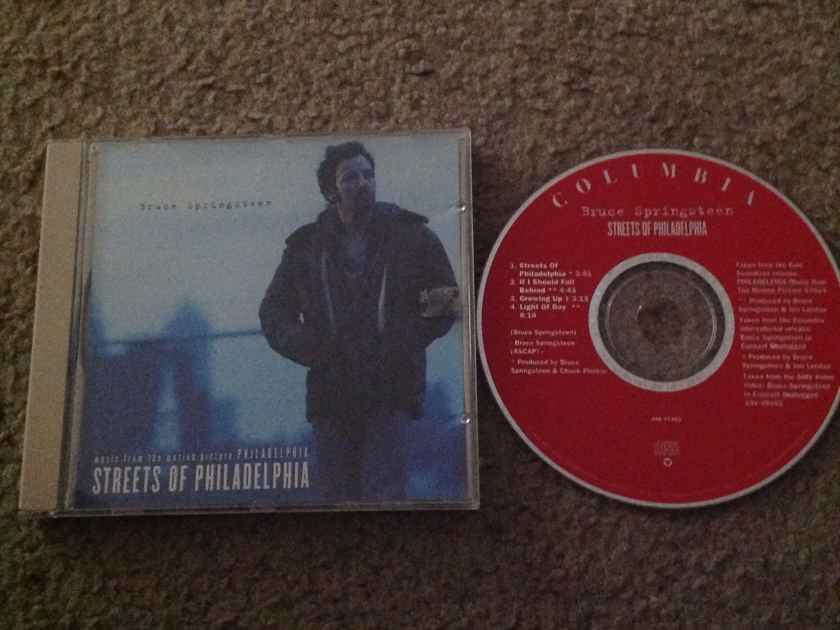 Bruce Springsteen - Streets Of Philadelphia  Columbia Records CD EP