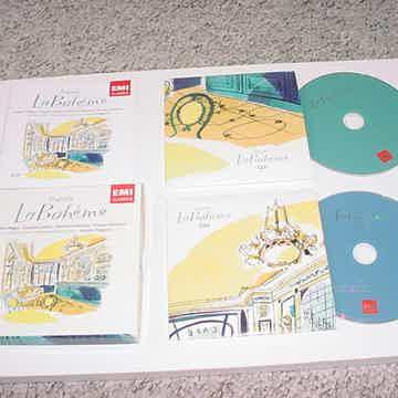 EMI Classics 2 cd set Puccini La Boheme Roberto Alagna Leontina Vaduva