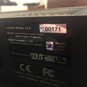 Cavalli Audio Liquid Gold