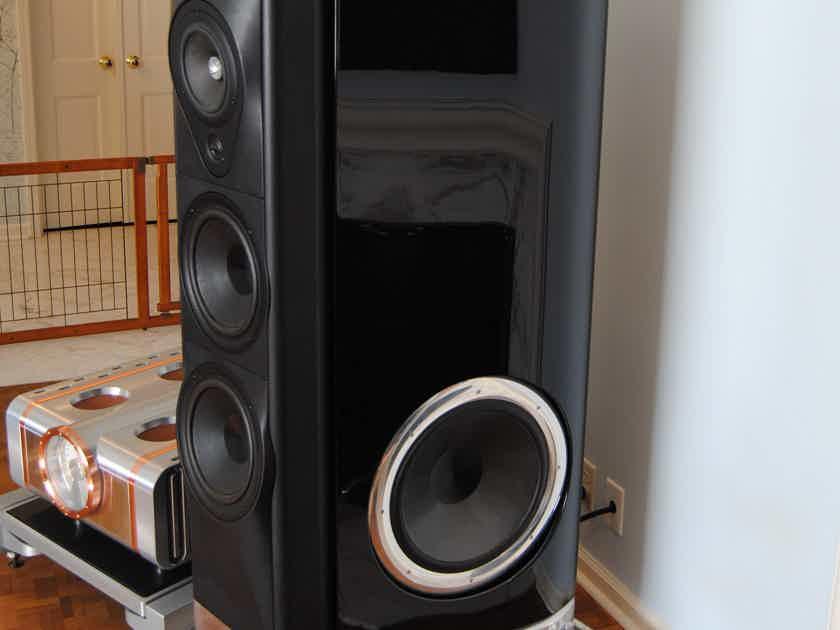 Sonus Faber Fenice Flagship Loudspeaker Pair, Black Gloss