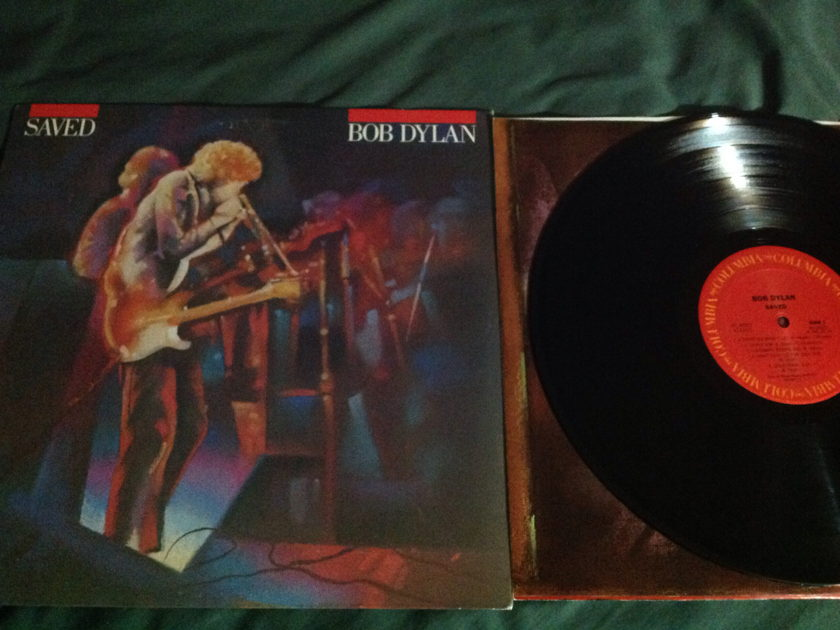 Bob Dylan - Saved Rare Alternate Cover Vinyl LP NM USA Pressing