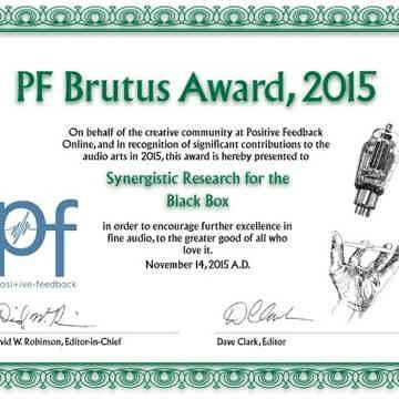 Brutus Award 2015