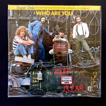SUPERDISK  LP  THE WHO ** SEALED **   -  Who Are You   ...
