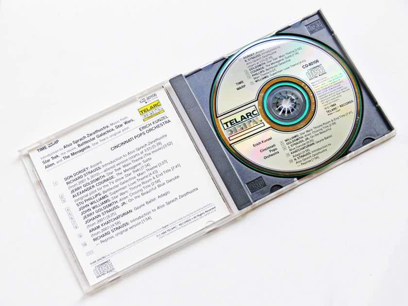 TELARC CD   TIME WARP   - ** ORIGINAL 1984 JAPAN PRESSING **