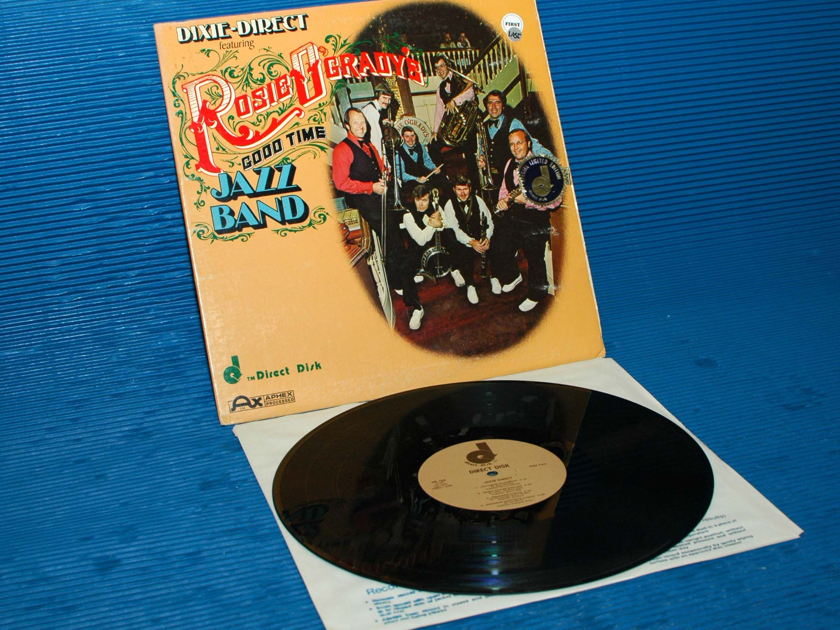 """ROSIE O'GRADY'S GOOD TIME JAZZ BAND   - """"Dixie Direct"""" -  Direct Disk 1977 Ltd Edition  D-D"""