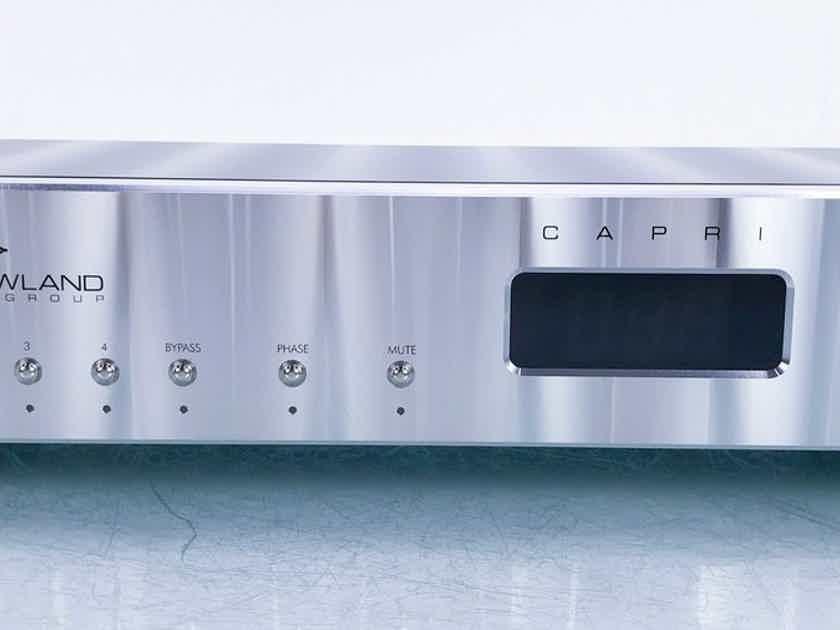 Jeff Rowland Capri S Stereo Preamplifier Remote (15831)
