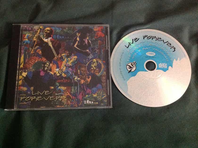 Jimi Hendrix John Coltrane Marvin Gaye Bob Marley - Sacred Sources 1 Live Forever Compact Disc