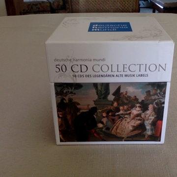Deutsche Harmonia Mundi Baroque and Ancient Music, 50 CD Collection