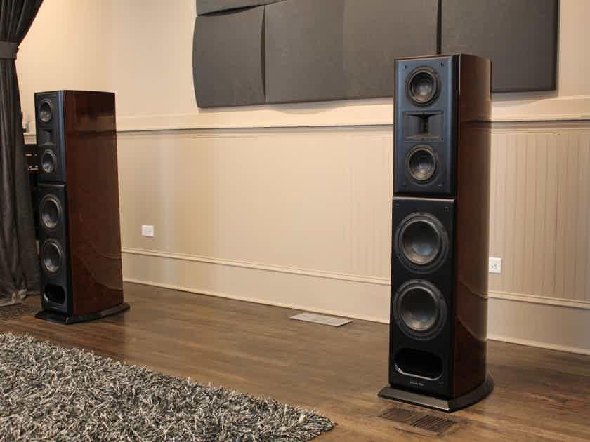 Acoustic Zen Crescendo MkII - Gorgeous Walnut Burl Loudspeakers!!