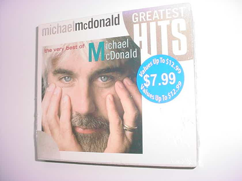 SEALED CDthe very best of  - Michael Mcdonald greatest hits sealed cd