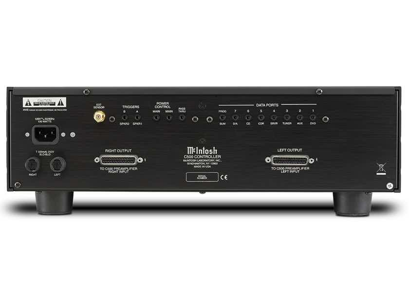 McIntosh c500p and c500c Solid State Stereo Preamplifier