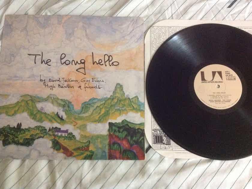 David Jackson & Friends The Long Hello UA Records Import