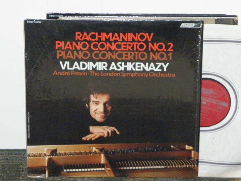 Vladimir Ashkenazy/Andre Previn/London Symphony - Rachmaninoff Cto .No 2+1 London CS 6774 UK Decca 5W/6W matrix