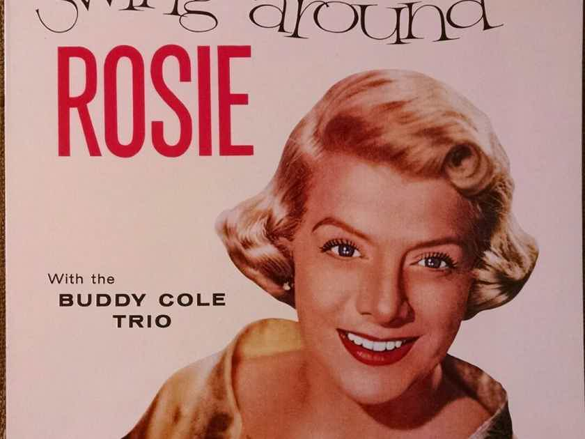 ROSEMARY CLOONEY -  Swing Around Rosie w Buddy Cole Trio rare