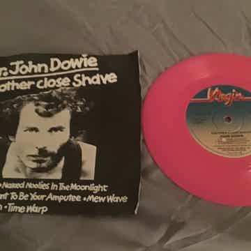 Mr. John Dowie Import Pink Vinyl EP With Picture Sleeve...