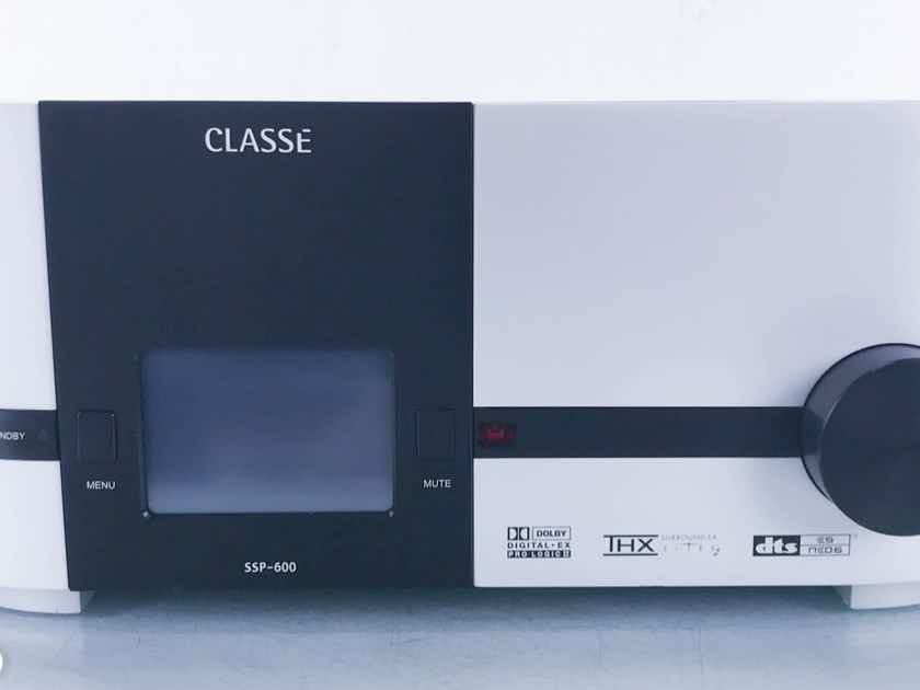 Classe SSP-600 7.1 Channel Home Theater Processor Preamplifier; SSP600 (2/2) (14778)