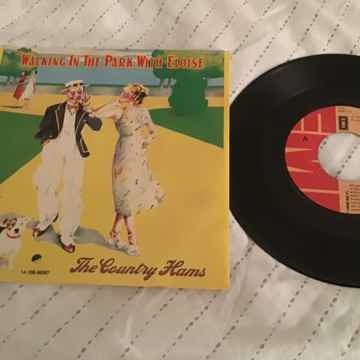 The Country Hams Paul McCartney UK 45 With Picture Slee...