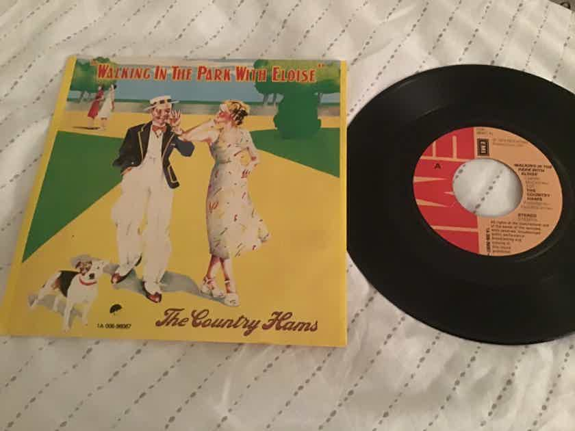 The Country Hams Paul McCartney UK 45 With Picture Sleeve Vinyl NM  Walking In The Park With Eloise