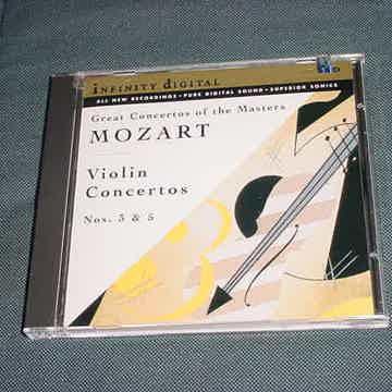 MOZART Violin concertos nos 3 & 5