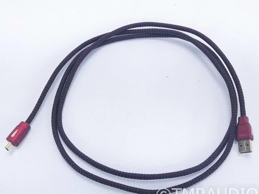 AudioQuest Cinnamon Mini USB Cable; Single 1.5m Interconnect (16639)