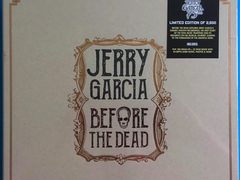 Jerry Garcia - Before the Dead 5LP Set - Quality Record Pressing New / Sealed - 180gram 5lp Set - Limited to 2500 copies
