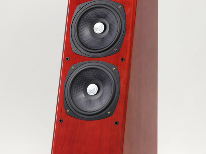 """Grand Veena BE Loudspeaker """"utterly musical"""" loudspeakers very coherent, engaging and lively sound."""