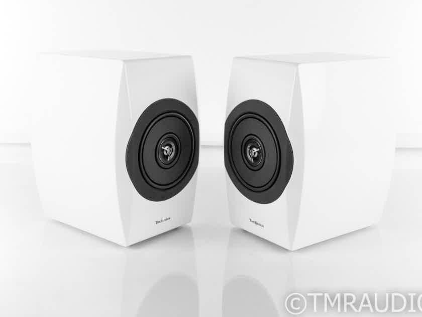 Technics SB-C700 Bookshelf Speakers; White Pair; SBC700 (21077)