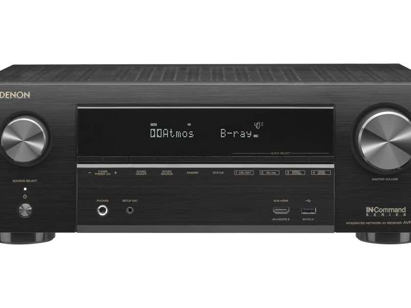 Denon AVR-X1500H 7.2-CHANNEL HOME THEATER RECEIVER with Wi-Fi, BLUETOOTH, AIRPLAY 2 AND ALEXA - AUTHOERIZED DEALER - FULL MANUFACTURER'S WARRANTY