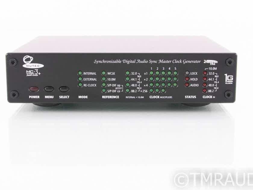 Mutec MC-3+ Word Clock Generator / S/PDIF Reclocker (19082)