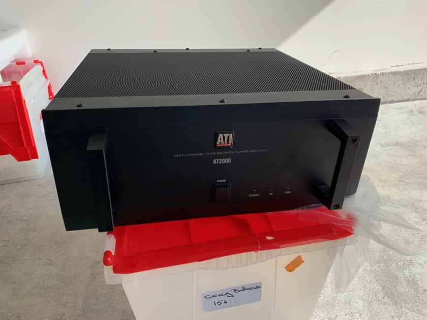 ATI Amplifier Technologies AT2006 6 Channel Amp 200 ***SOLD** Others available see below !