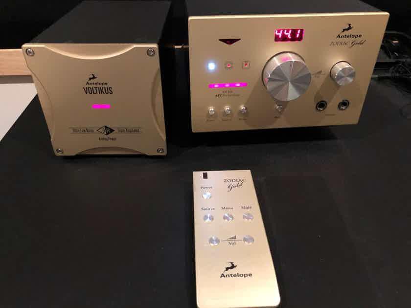 Antelope Audio Zodiac Gold+Volticus