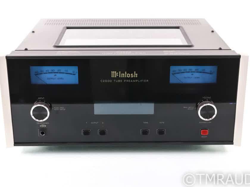 McIntosh C2600 Stereo Tube Preamplifier; C-2600; Remote (26745)