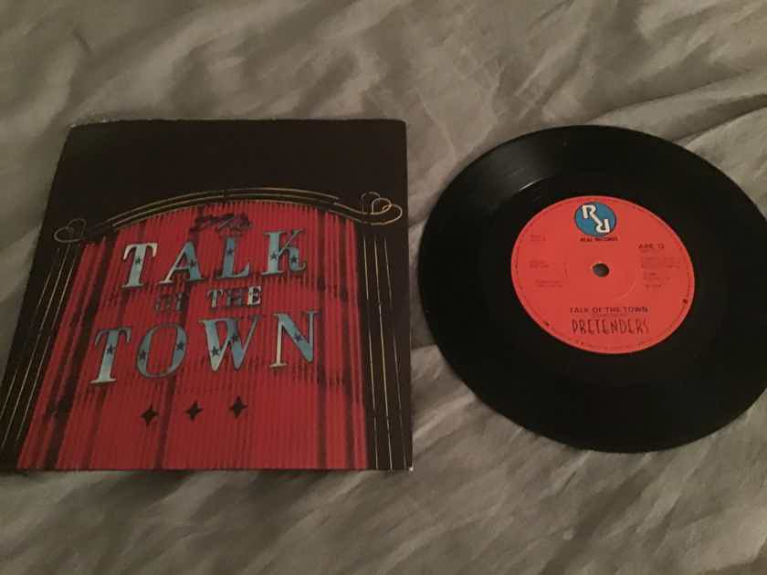 The Pretenders  Talk Of The Town/Cuban Slide UK 45 With Picture Sleeve