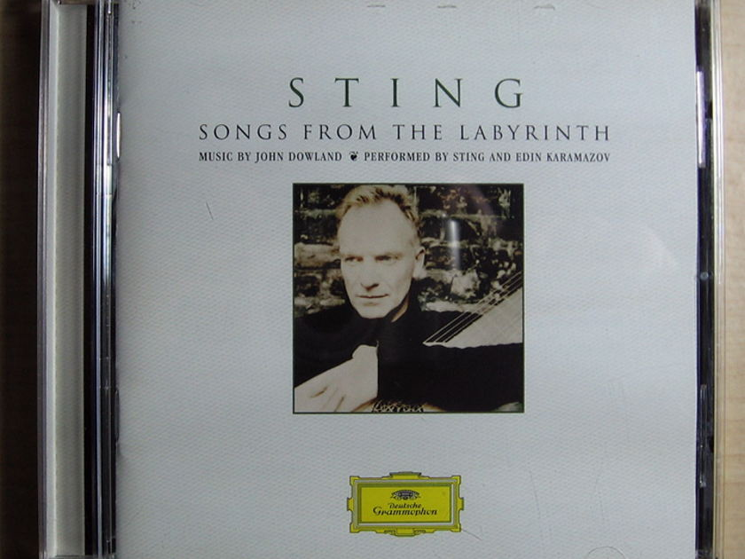 Sting ‎ - Songs From The Labyrinth  Deutsche Grammophon ‎– B0007220-02