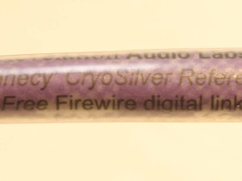 Revelation Audio Labs Prophecy CryoSilver Reference Power-Free Firewire Cable. 0.75m.