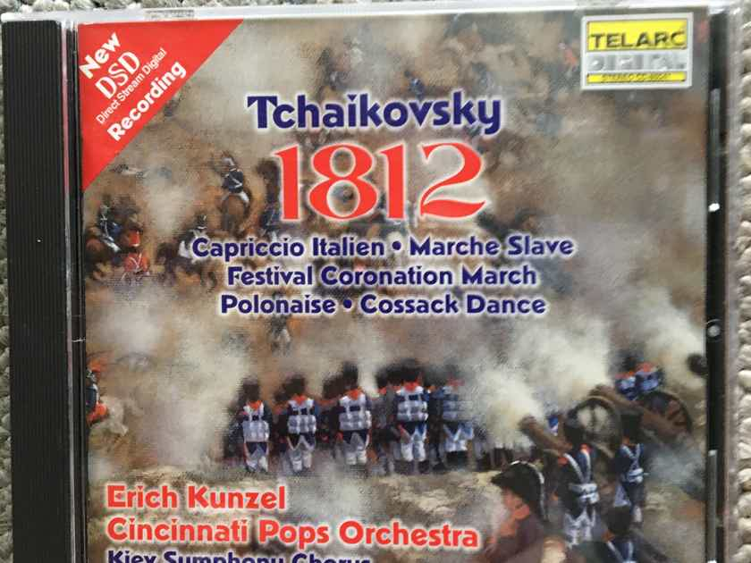 Tchaikovsky 1812 Erich Kunzel  Cincinnati pops dsd Cd 2001 Telarc Cd-80541