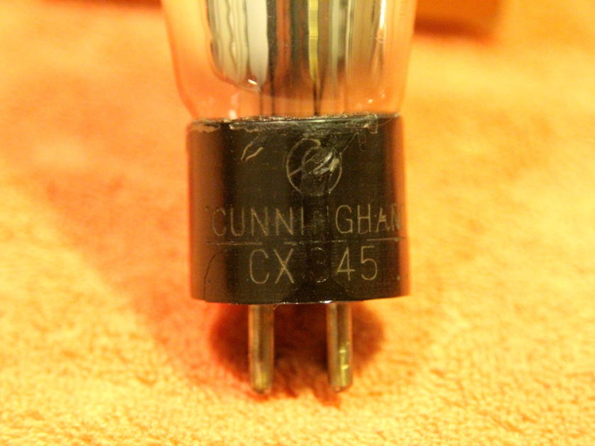 Vintage 45 tubes RCA/Cunningham