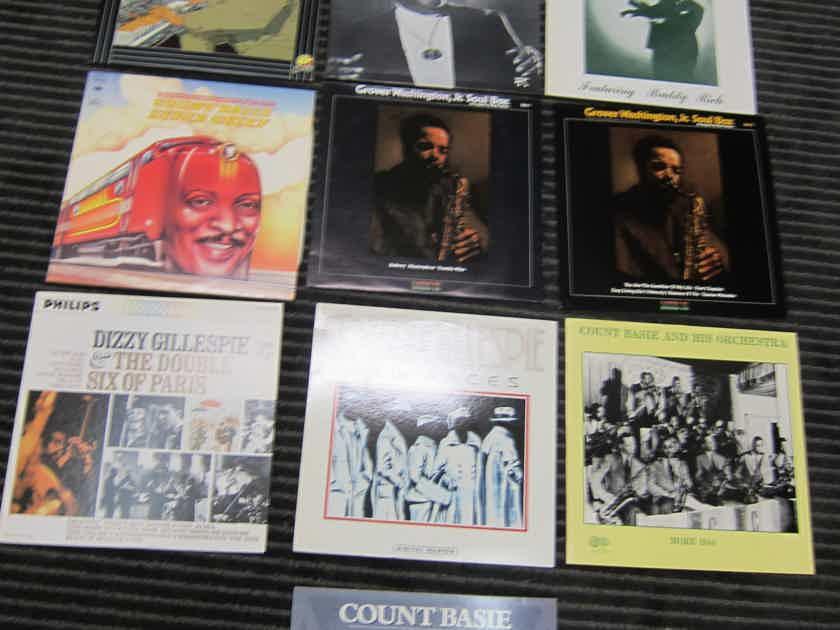10 Basie, Gillespie, Washington Vintage LPS A+++, Ex Sound, Ex Condition, Musical + Natural