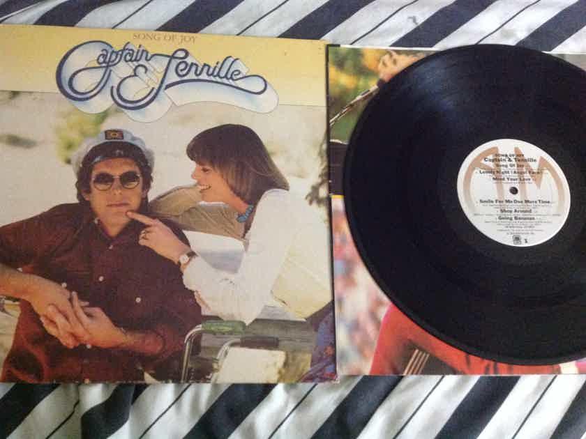 Captain & Tennille - Song Of Joy A & M Records Vinyl LP NM