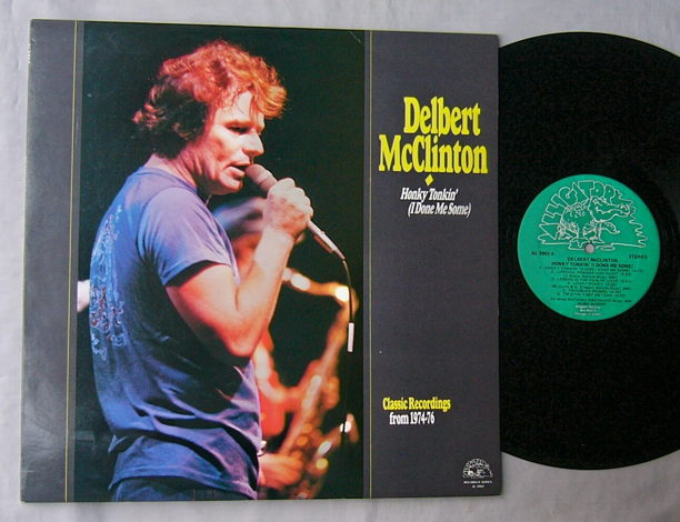 DELBERT McCLINTON LP~HONKY
