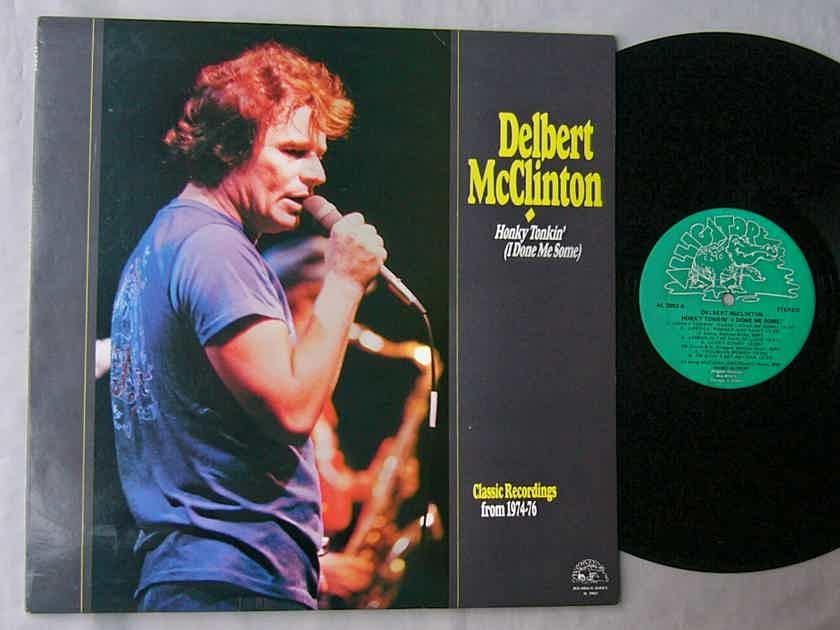 DELBERT McCLINTON LP~HONKY - TONKIN' / CLASSIC RECORDINGS  1974-76~Alligator blues album