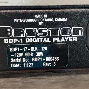 Bryston BDP - 1