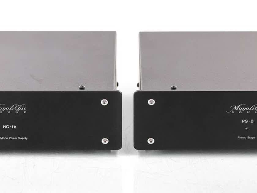 Monolithic Sound PS-2 Phono Preamplifier; Black; HC-1B (29230)