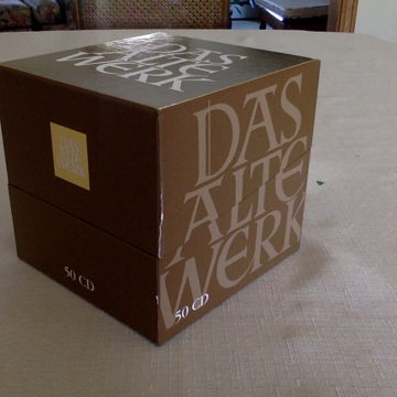 Das Alte Werk 50 CD box set
